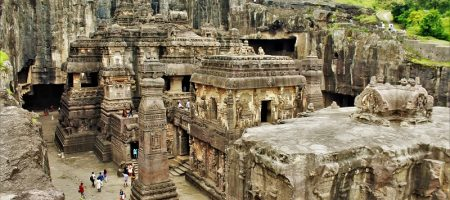 Kailasa-Temple-at-Ellora-Caves-Aurangabad